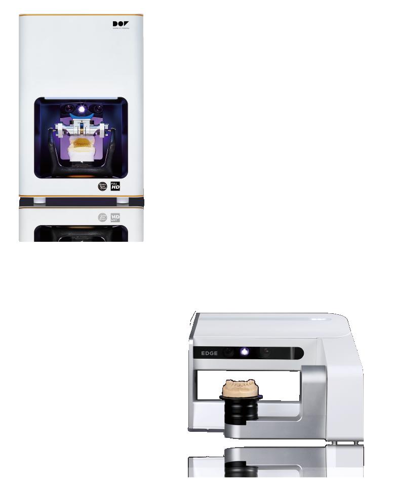 FREEDOM ・高精度・カメラが動く・200万画素のHD、500万画素のUHD EDGE ・価格が魅力・高速スキャン